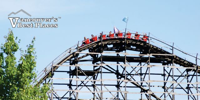Wooden Roller Coaster At Pne Playland Vancouvers Best Places