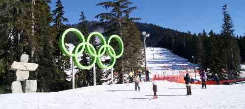 Cypress Mountain Olympic Rings Vancouver S Best Places
