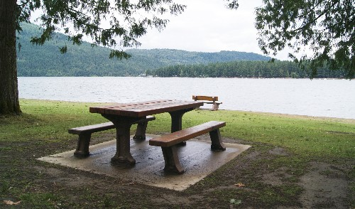 Astounding Picnic Table At Cultus Lake Vancouvers Best Places Home Interior And Landscaping Fragforummapetitesourisinfo