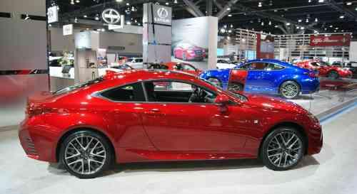 Lexus Car Display At Auto Show Vancouvers Best Places - Lexus car show