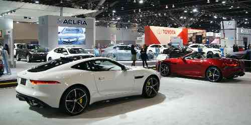 Vancouver Auto Show Floor Vancouvers Best Places - Car show display flooring