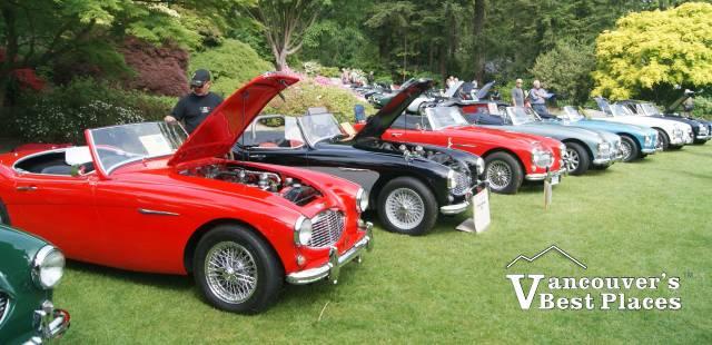 Van Dusen Car Show