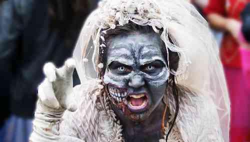 Scary Zombie Bride Vancouver S Best Places