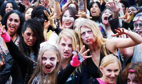 Zombie Crowd Vancouver S Best Places