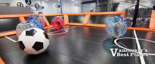 Bubble Soccer At Apex Trampolines Vancouver S Best Places