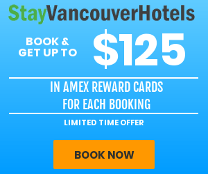 StayVancouverHotels AMEX promotional offer