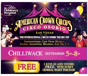Circo Osorio Circus in Chilliwack