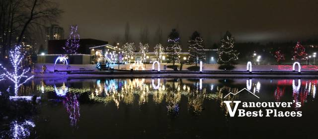 Christmas Lights at Lafarge Lake | Vancouver's Best Places