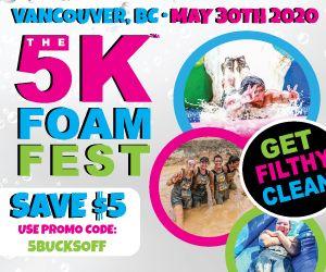 Vancouver 5K Foam Fest 2020