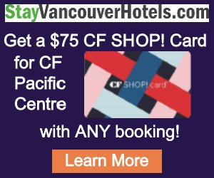 StayVancouverHotels $75 Gift Card Promo