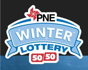 PNE Winter 50-50 Lottery