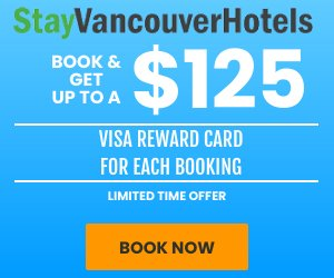 StayVancouverHotels.com Visa Card Promotion